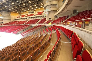 Сидения ТМ Forum Seating в комплексе «ERGO ARENA»
