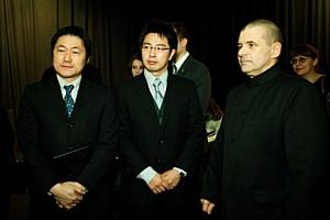 «САМУРАЕВ»  поздравил с днем рождения  Министр Посольства  Японии