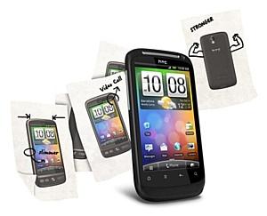 Новый коммуникатор HTC Desire S - на складе MERLION