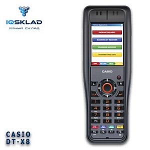 IQSKLAD ���������� �����-���������� �������� ����� ������ CASIO DT-X8