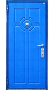 В отделке стальных дверей «Рельеф» расширение ассортимента цветов