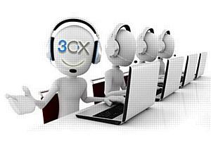 �������������� ����� 3CX � �������������� ������ ��� Call�������