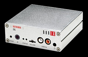 Barix Extreamer 205: Встроенный усилитель, локальный аудио вход добавят новые возможности