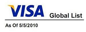 Компания ООО «МобиПлаС» добавлена к списку сервис-провайдеров Visa, соответствующих стандарту PCI DSS