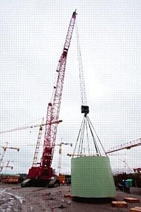 "Холдинг ""ТИТАН-2"" на ЛАЭС-2 собрал ферму-консоль ловушки расплава весом 155 тонн"