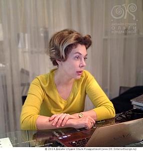 Офис дизайн-студии Ольги Кондратовой посетила известная журналистка Божена Рынска