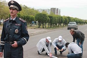 Активисты ОНФ взяли на контроль ремонт автомобильных дорог в хакасском городе Черногорске