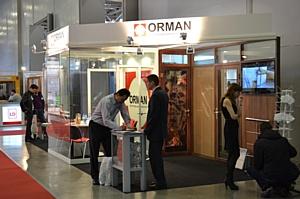 На выставке BUILDEX 2012 представлен производитель перегородок и дверей ORMAN