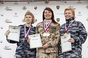 Чемпионат по стрельбе из боевого оружия состоялся в Брянске