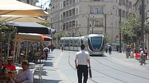 По Иерусалиму на трамвае!