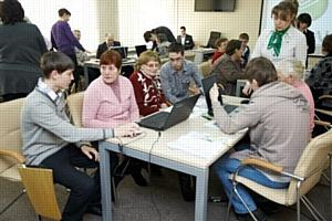 «Школа современного пенсионера» Сбербанка в Хабаровске приняла первых учеников