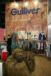 Одежда Gulliver на выставке «CJF-Детская мода-2013. Осень»