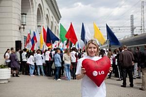 В Сочи прошел День донора  с участием олимпийской чемпионки