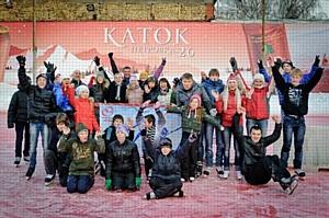 Авиакомпания «Трансаэро» организовала ледовый праздник для детей