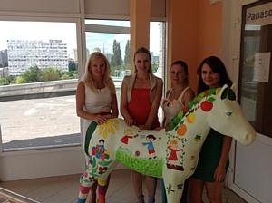 Благотворительный Baby Horse-parade 2012