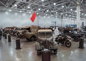 """В """"Крокус Экспо"""" состоится Международная выставка исторической военной техники «Моторы Войны»"""