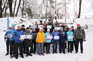 Брянские таможенники соревновались на лыжне на приз «Динамо»