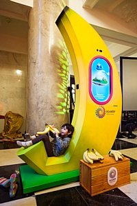 Новая кампания Про Эквадор по продвижению бананов – «Люби жизнь. Ешь бананы»