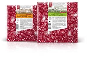 Дизайнер Светлана Куренская разработала упаковку сыров для компании «Лакт».