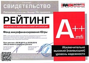 Фонду микрофинансирования Ханты-Мансийского автономного округа – Югры исполняется 5 лет