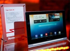 Lenovo представила новые продукты серии Yoga в Украине