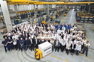 Стотысячная машина произведена на заводе Jungheinrich в Ландсберге