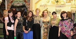 Pleon Talan и Катя Осадчая  открыли первый бутик MICHAL NEGRIN в Украине
