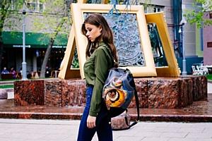Как создать яркий образ с сумкой от русского бренда Ante Kovac.