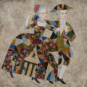 Выставка «Новогодний карнавал. Павел Покидышев» 12 – 29 декабря 2014 года