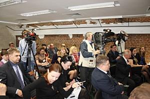В Орле Первая городская управляющая компания представила журналистам cистему «ЖКХ-Регион»