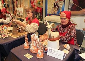 Главная выставка в области народного искусства. «Ладья. Зимняя сказка-2015»
