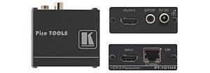 Kramer PT-101H4: репитер HDMI с поддержкой Ethernet и деэмбеддер аудио