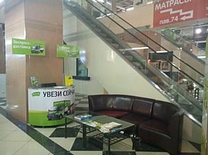 «ГрузовичкоФ» привезет покупки из ТЦ «Метр квадратный»