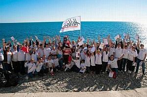 На побережье прошли традиционные экологические акции в защиту Черного моря