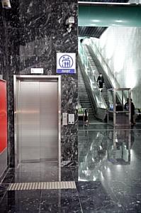 Лифтовое оборудование в рамках программы метростроения Москвы уже в эксплуатации