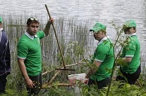 Ивановские пивовары провели субботник на реке Талка