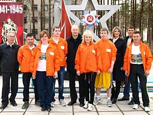 Савинский цементный завод принял участие в мероприятиях в честь 68-ой годовщины Великой Победы