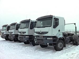 Поставка грузовиков Renault Kerax в Казахстане