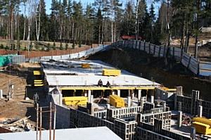 Фотоотчет со строительства ЖК Черничная поляна IMD Group