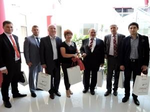 Завод Ниармедик Фарма посетила делегация из Татарстана в рамках рабочего визита в Калужскую область