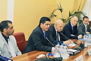 МЦУЭР принял участие в официальной встрече с вице-президентом Высшего энергетического совета ОАЭ