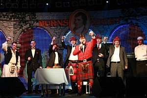 ����� �Burns Night� ������ 120 ����� �������� �� �������������������