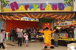 Детский развлекательный центр Happy Land площадью 105 кв. м открылся в Адлере