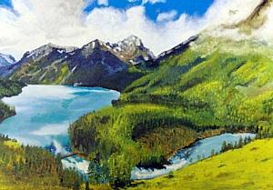 """Выставка картин """"Мир глазами творца"""""""