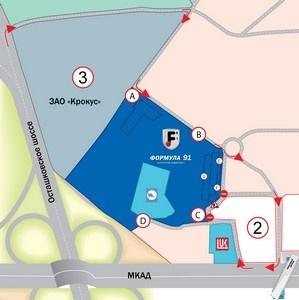 С 13.08.13 изменяется порядок въезда на торговую площадку «Формула 91».