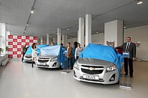 «За рулем» вручил читателям 3 автомобиля Chevrolet Cruze