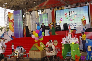 Чувашское отделение Сбербанка на Фестивале творчества «Аистенок»