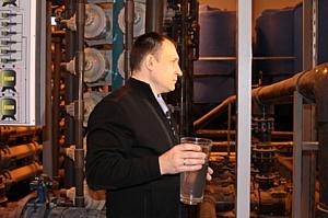 Ивановские активисты ОНФ проверили работу очистных сооружений в индустриальном парке «Родники»