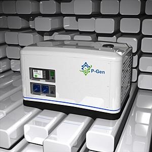 Первый в мире портативный генератор с Li-ion батареей и модулем ИБП