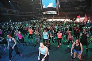 Эксперт X-Fit принял участие в международной фитнес-конвенции Nike Training Day